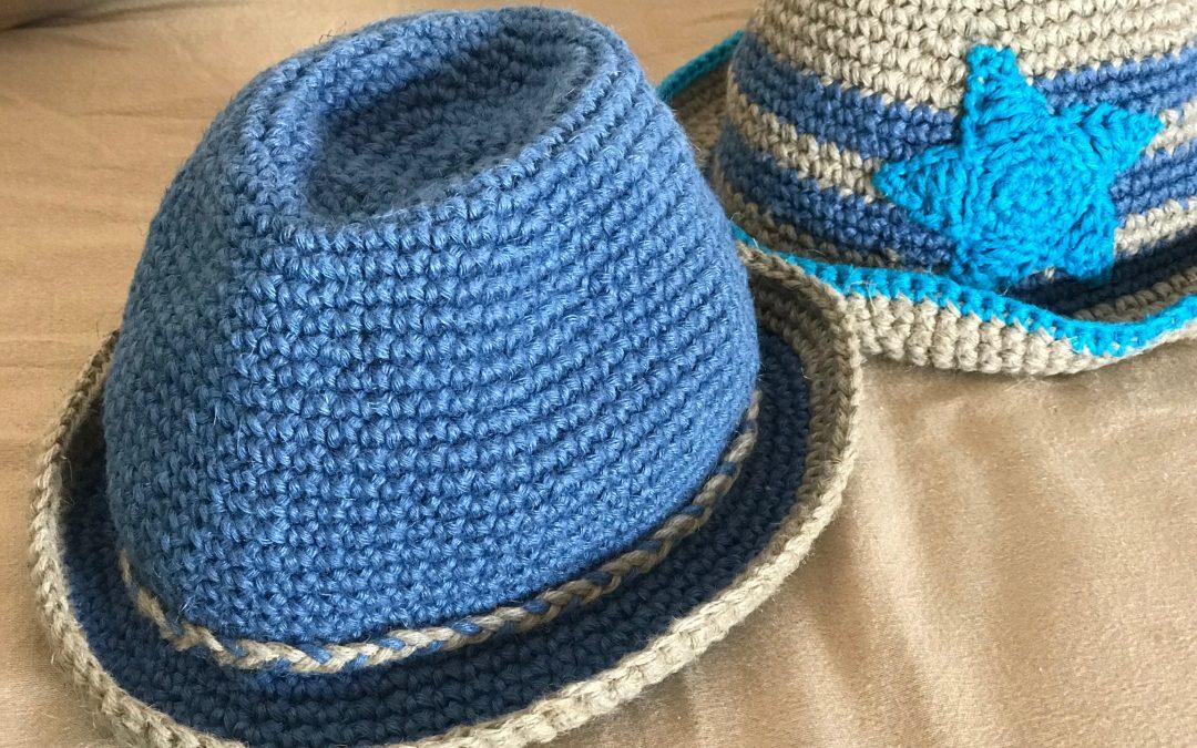 Sombrero de lino para niño y adulto