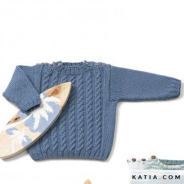 patron-tejer-punto-ganchillo-bebe-jersey-primavera-verano-katia-6120-30-p