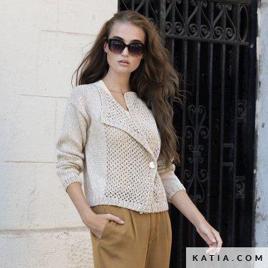 patron-tejer-punto-ganchillo-mujer-chaqueta-primavera-verano-katia-6122-40-p