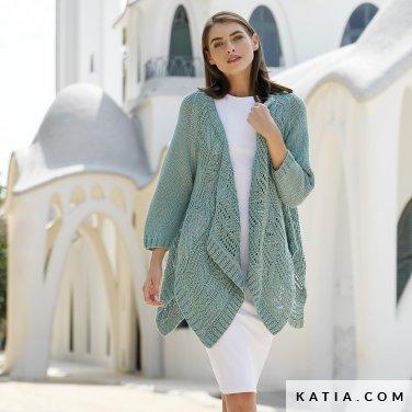 patron-tejer-punto-ganchillo-mujer-chaqueta-primavera-verano-katia-6123-13-p