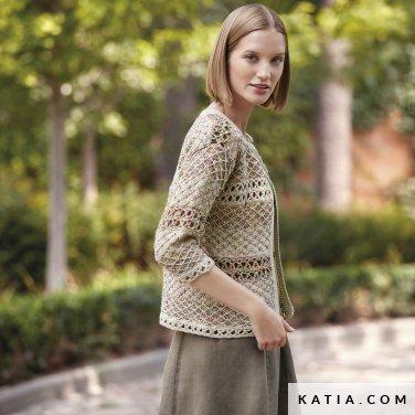 patron-tejer-punto-ganchillo-mujer-chaqueta-primavera-verano-katia-6123-28-p