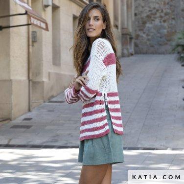 patron-tejer-punto-ganchillo-mujer-jersey-primavera-verano-katia-6122-24-p