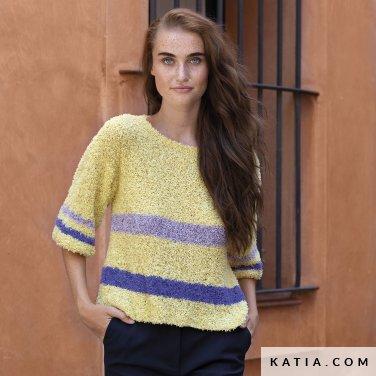 patron-tejer-punto-ganchillo-mujer-jersey-primavera-verano-katia-6122-37-p