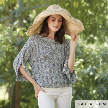 patron-tejer-punto-ganchillo-mujer-jersey-primavera-verano-katia-6123-3-p