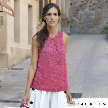 patron-tejer-punto-ganchillo-mujer-top-primavera-verano-katia-6122-26-p