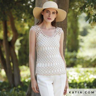 patron-tejer-punto-ganchillo-mujer-top-primavera-verano-katia-6123-36-p