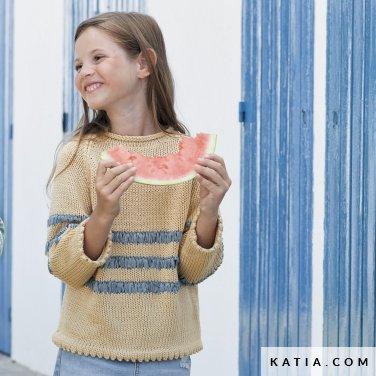 patron-tejer-punto-ganchillo-ninos-chaqueta-primavera-verano-katia-6121-23-p