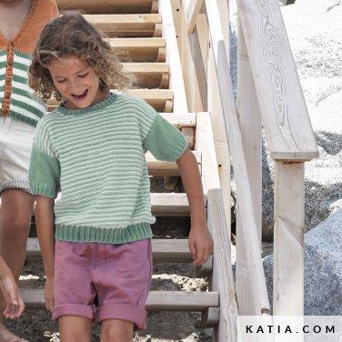 patron-tejer-punto-ganchillo-ninos-jersey-primavera-verano-katia-6121-27-p