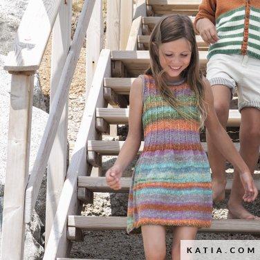 patron-tejer-punto-ganchillo-ninos-vestido-primavera-verano-katia-6121-25-p